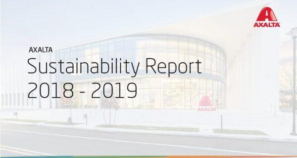 Axalta 2018-2019 Sustainability Report Released