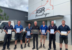 ASR Collision Specialists Secures I-CAR Gold Class