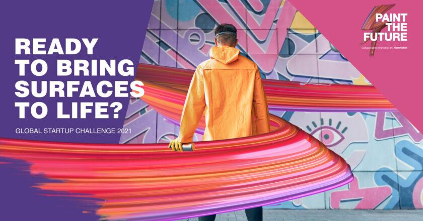 AkzoNobel Inviting Start-Ups To 'Paint The Future'