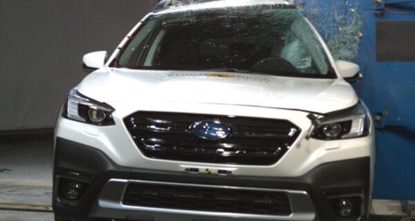ANCAP Rates Subaru Outback, Toyota Mirai 5 Stars - Subaru Outback