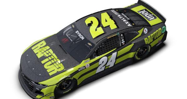 Axalta Reveals NASCAR Paint Scheme Featuring U-POL's Raptor
