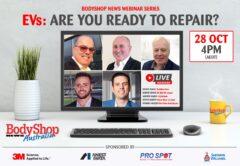 BodyShop News October 2021 Webinar Is About EVs